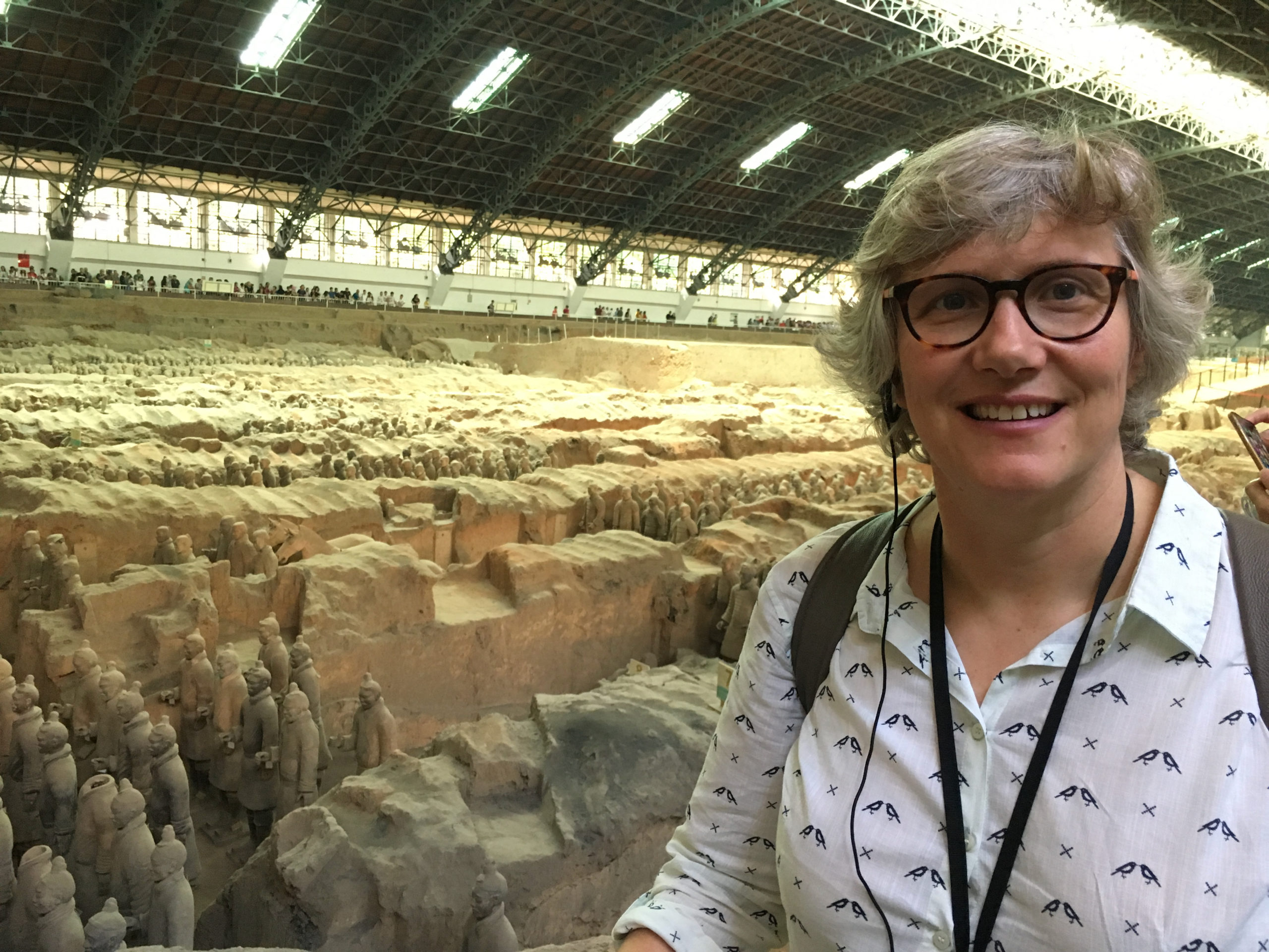 View of the Terracota Army Museum, Xi'an