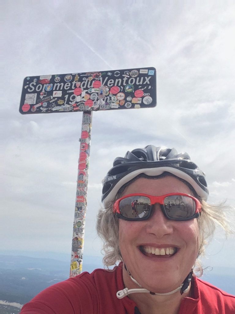Cycling picture on Mont Ventoux